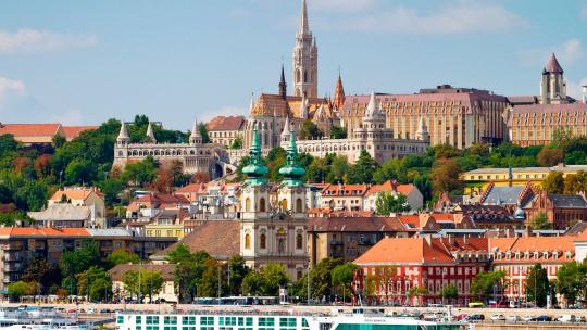 Экскурсия Экскурсия по Будайской крепости по Будапешту