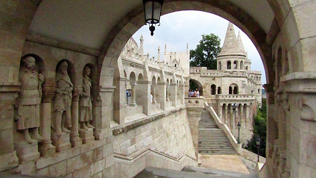 Будайская крепость - королевский маршрут - фото 10