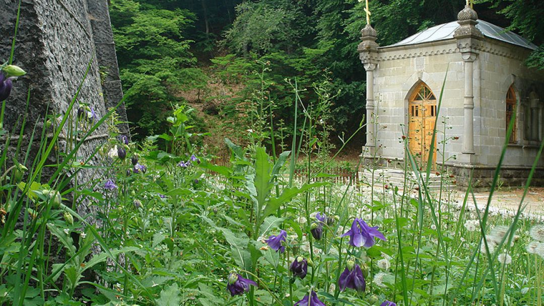 Алуштинский заповедник: форелевое хозяйство, беседка ветров, монастырь Косьмы и Дамиана - фото 1