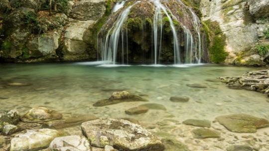 Экскурсия Водопад Джур Джур + Сырная скала + Храм Маяк Николая Чудотворца  по Симферополю