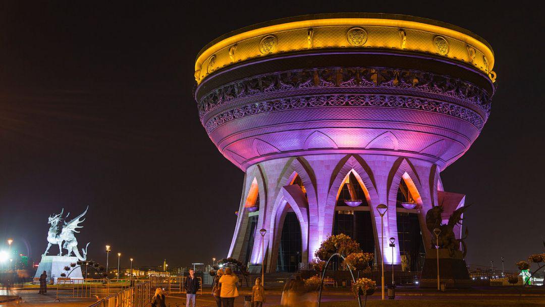 Ночная Казань - фото 1