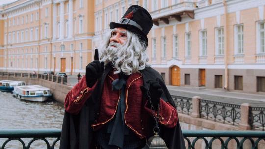 """Экскурсия Волшебный сити-тур """"Фаролеро"""", экскурсия в формате театрального представления в Санкт-Петербурге"""