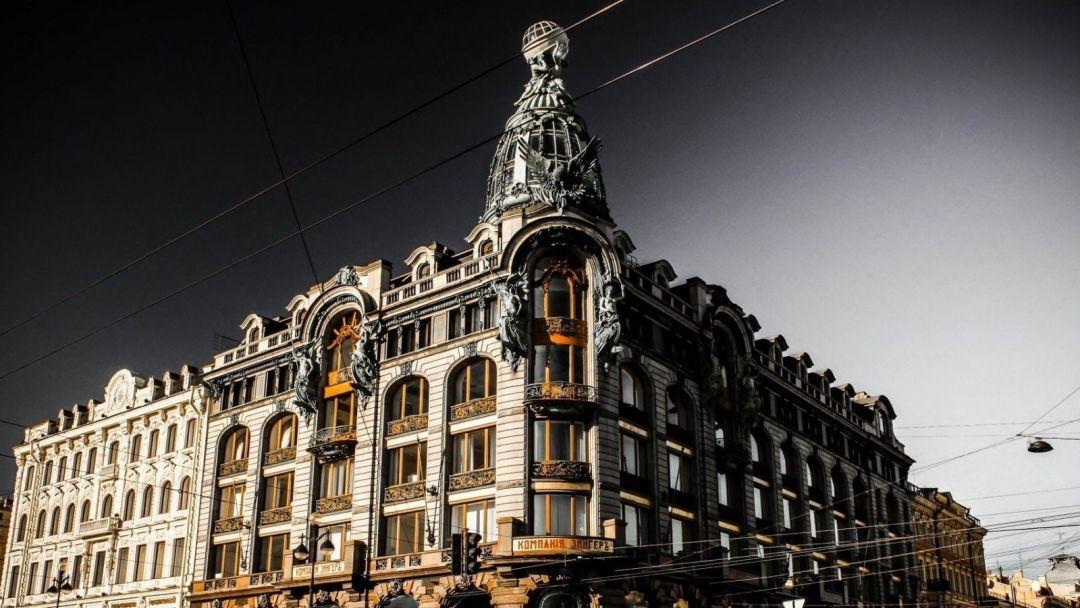 Дом Зингера с посещением смотровой площадки (у купола) в Санкт-Петербурге