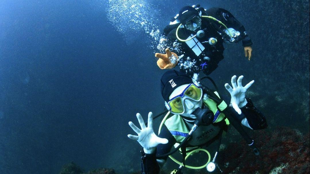 Ознакомительное погружение с аквалангом в Ялте - фото 1