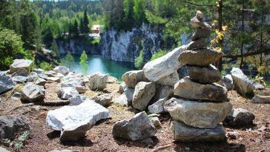 Путешествие по Карелии: Рускеала - мраморное царство - фото 6