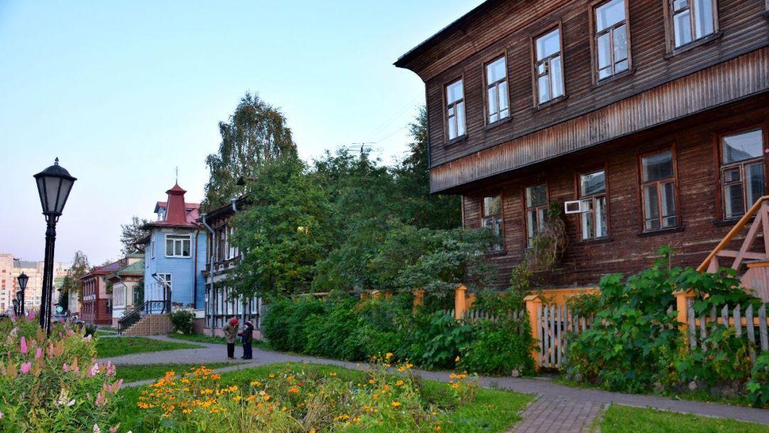 Заповедная улица в Архангельске