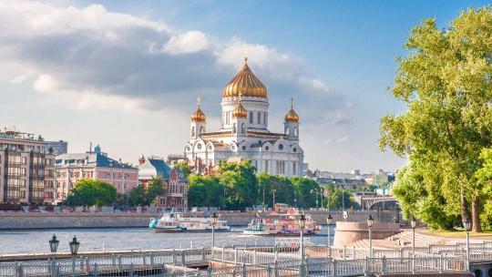 Экскурсия Обзорная экскурсия по Москве на автомобиле по Москве