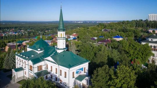 Первая соборная мечеть города Уфа по Уфе