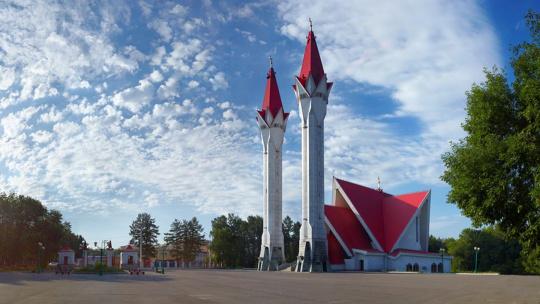 Мечеть Ляля-Тюльпан по Уфе
