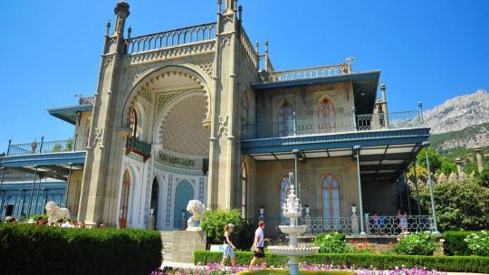 Экскурсия Дворец в парке