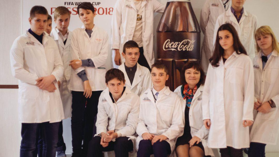 Экскурсия на завод Coca Cola - фото 3