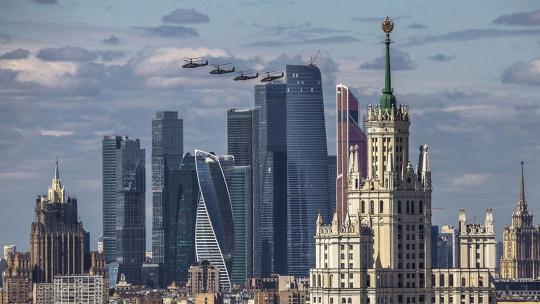 Экскурсия Москва с американским акцентом по Москве