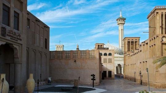 Старинный Город Бастакия в Дубайе