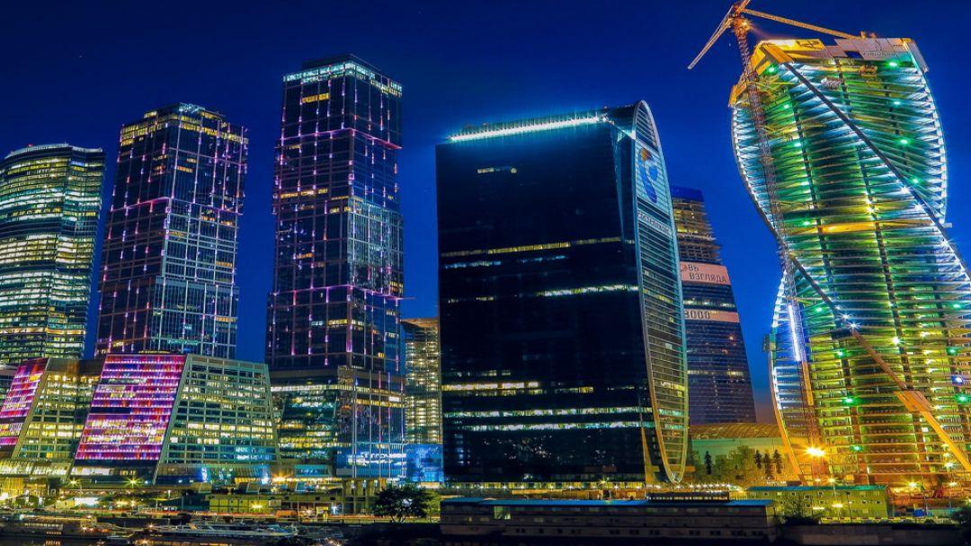 Огни ночной Москвы - фото 2