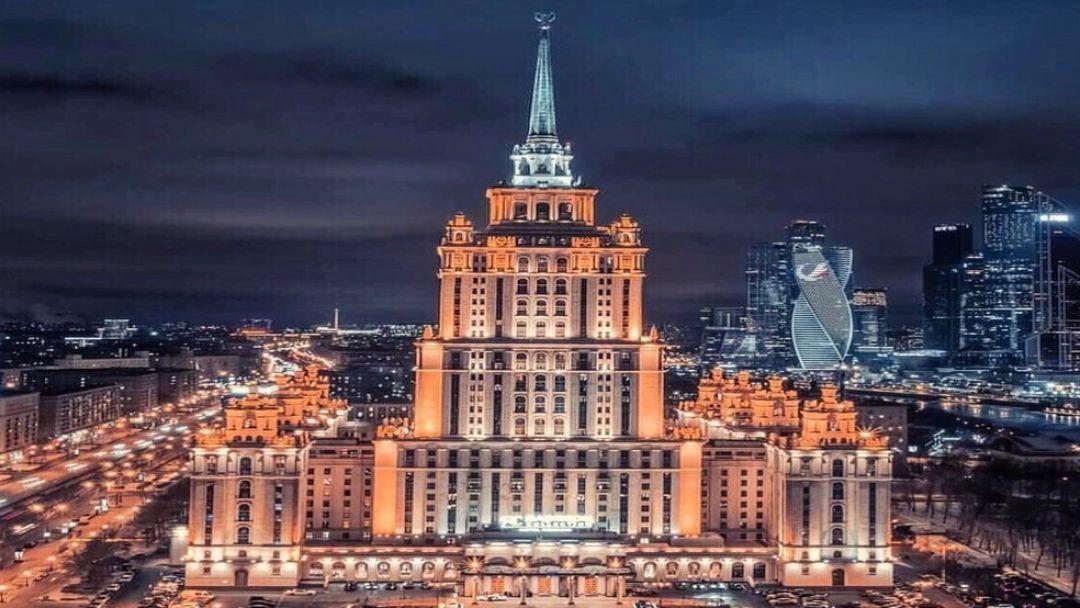 Огни ночной Москвы - фото 3