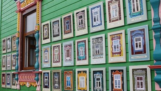 Музей наличника в Владимире