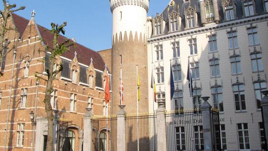 Дворец Принсенхоф  в Амстердаме
