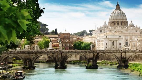 Мост Святого Ангела по Риму