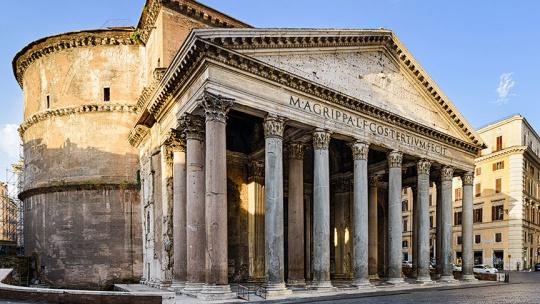 Пантеон в Риме по Риму