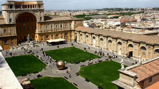 Экскурсия Ватикан по Риму