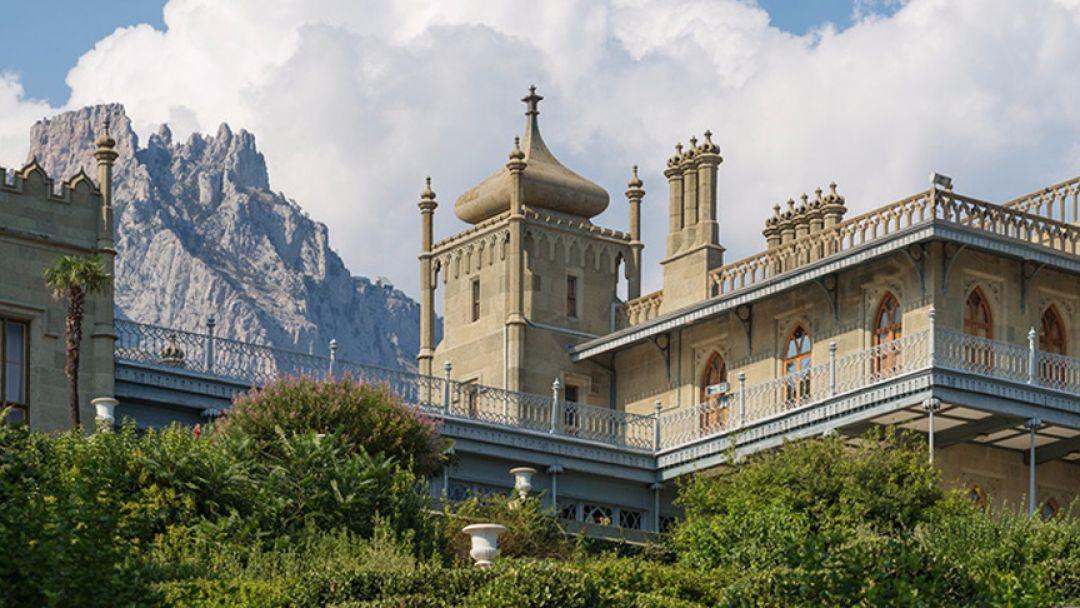 Дворец в парке - фото 3