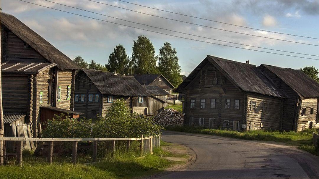 Карельская деревня Рубчойла в Петрозаводске