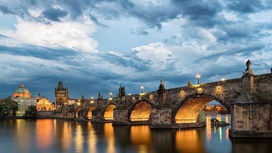 Карлов мост в Праге в Праге
