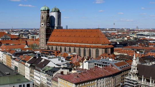 Собор Фрауенкирхе в Мюнхене по Мюнхену