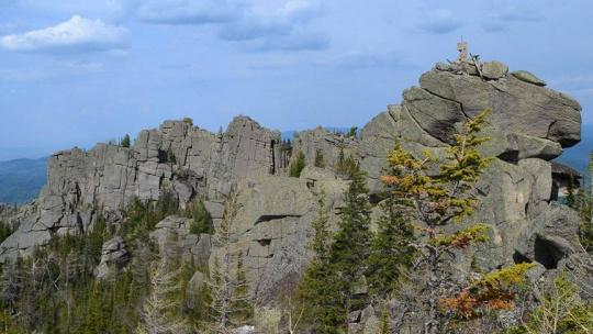 Гора Синюха по Горно-Алтайску