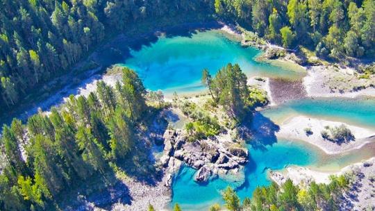 Голубые озера на Алтае по Горно-Алтайску