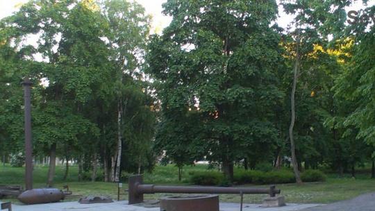 Губернаторский парк в Петрозаводске в Петрозаводске