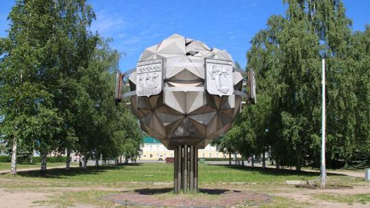 Дерево Дружбы в Петрозаводске в Петрозаводске