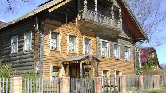 Историко этнографический музей Золотой ручей в Карелии в Петрозаводске