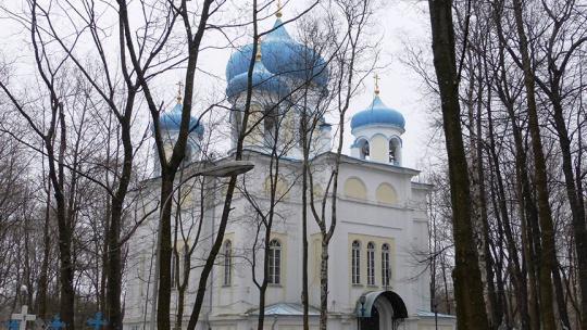 Крестовоздвиженский собор в Петрозаводске в Петрозаводске