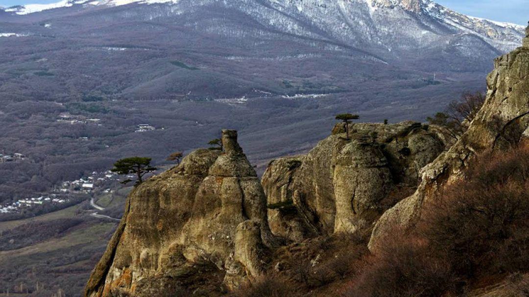 Пещеры Крыма из Ливадии - фото 3