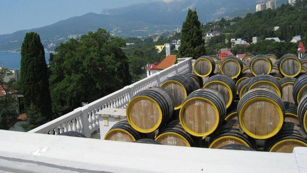 Дегустация крымских вин в Массандре - фото 3