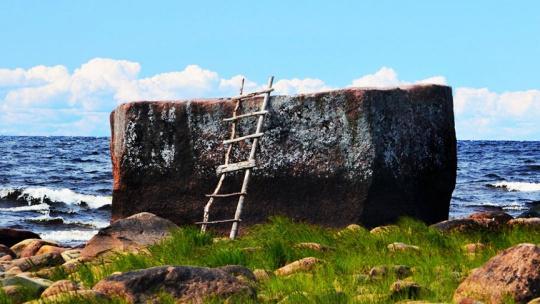 Варашев камень в Карелии в Петрозаводске