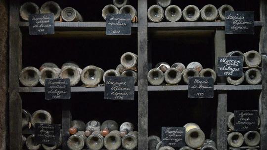 Дегустация вин в Массандре - фото 3