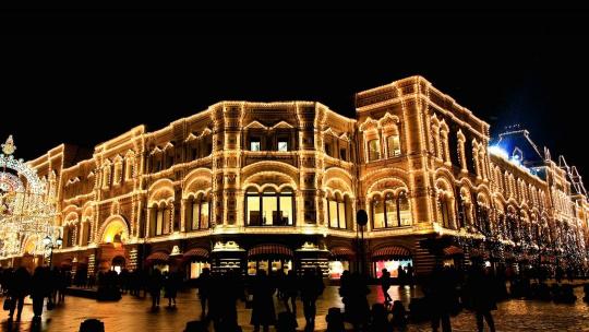 Экскурсия Огни новогодней Москвы  по Москве