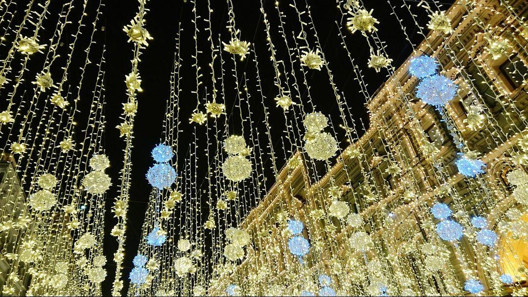 Огни новогодней Москвы  - фото 2
