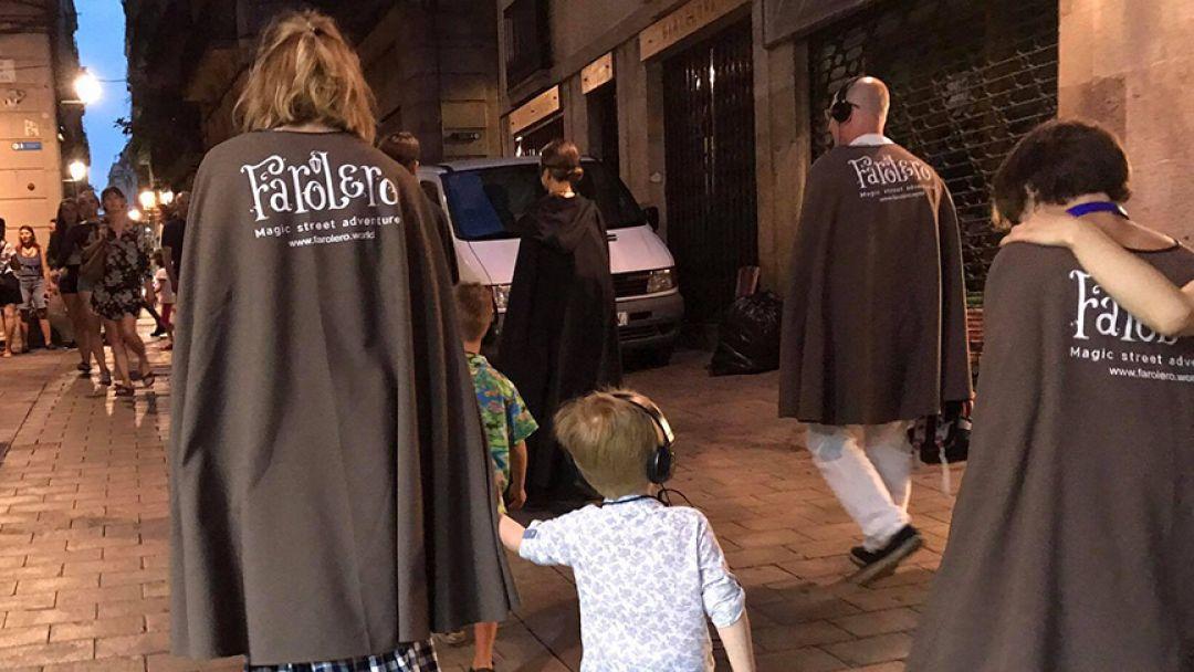 """Ночной волшебный сити-тур """"Фаролеро"""" с элементами экскурсии и перфоманса - фото 3"""