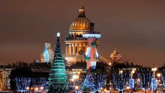 Экскурсия Новогодний Петербург, 6+ в Санкт-Петербурге
