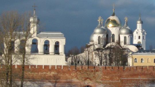 Новгородский Кремль в Великом Новгороде