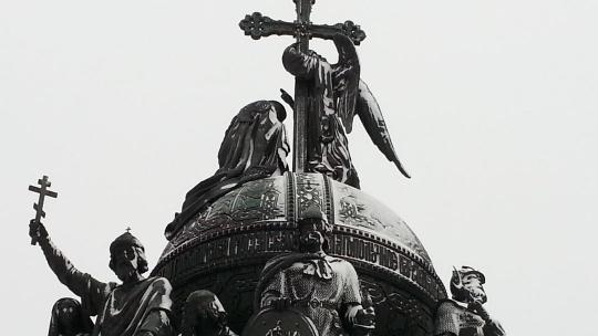 Памятник Тысячелетия России по Великому Новгороду