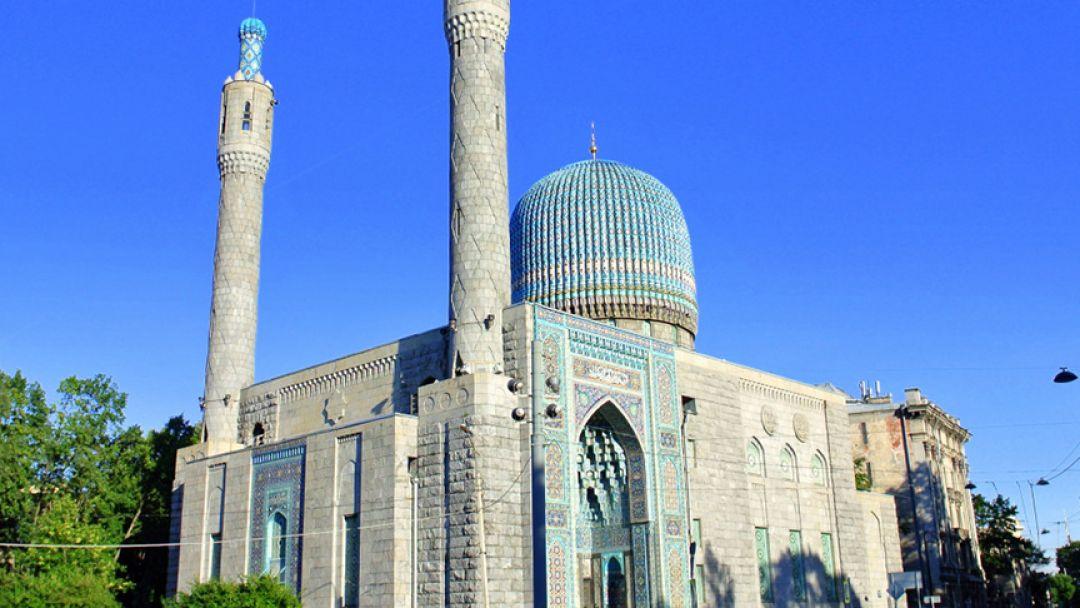 В Соборную мечеть в Санкт-Петербурге