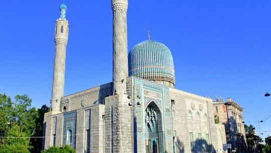 Экскурсия В Соборную мечеть в Санкт-Петербурге