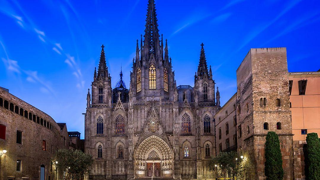 Экскурсия в Барселоне по готическому кварталу