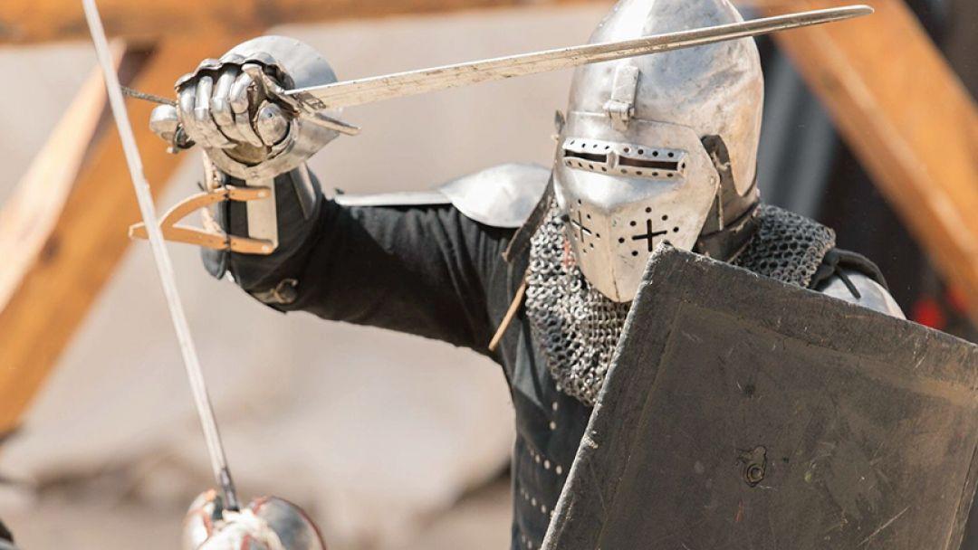 Турнир настоящих рыцарей в Барселоне