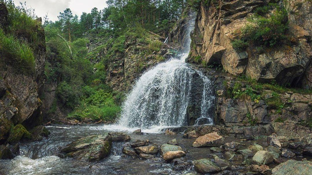 Камышлинский водопад - фото 1