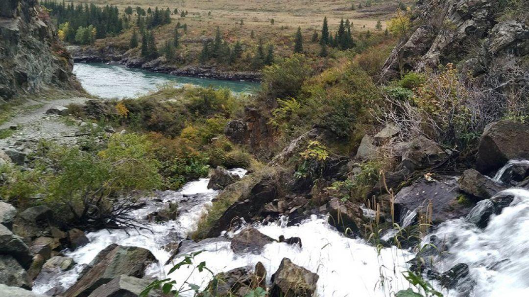 По Чемальскому тракту до водопада Бельтир-Туюк - фото 2